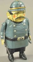 Guenthermann Tin-Figures Bobby with clockwork, full...