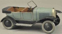 JEP Tin-Oldtimer Delaunay belleville, light blue body,...