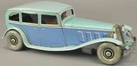 Tippco Tin-Oldtimer Limousine made of lithographed tin,...
