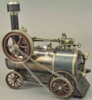Bing Steam Toys Lokomobile Live steam traction...