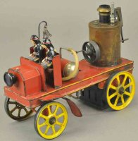 Bing Tin-Fire-Truck Early live steam pumper, appears to...