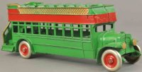 Kenton Hardware Co Cast-Iron buses City double decker...