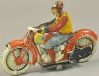 J.M.L. Co Tin-Motorcycles Motorcycle with civilian...