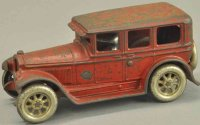 Arcade Cast-Iron Oldtimer Buick sedan, cast iron, painted...