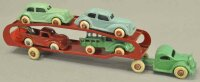 Arcade Cast-Iron trucks GMC car carrier, cast iron...
