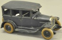 Arcade Cast-Iron Oldtimer Chevrolet sedan, single stripe...