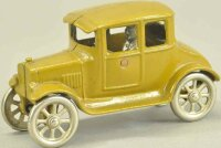 Kilgore Cast-Iron Oldtimer Coupe, cast iron, painted in...