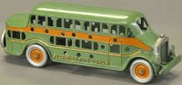 Kenton Hardware Co Cast-Iron buses Pickwick nite coach, a...