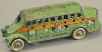 Kenton Hardware Co Cast-Iron buses Nite coach, cast iron,...