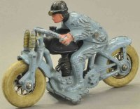 Hubley Cast-Iron-Motorcycles Hill climber No. 2, cast...