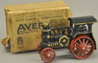 Arcade Cast-Iron-Floor-Train Avery traction engine with...
