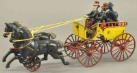 Dent Hardware Co Cast-Iron-Carriages Back to back trap...