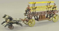 Kenton Hardware Co Cast-Iron-Carriages Horse drawn ladder...