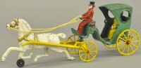 Kenton Hardware Co Cast-Iron-Carriages Hansom cab,...