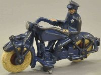 Champion Hardware Company Cast-Iron-Motorcycles Police...