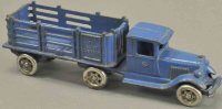 Williams AC Cast-Iron trucks Tractor trailer, cast iron,...