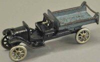 Arcade Cast-Iron trucks Model T Anthony dump truck, cast...