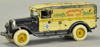 Arcade Cast-Iron trucks Hathaways bread truck, cast iron...