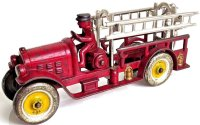 Kenton Hardware Co Cast-Iron fire trucks Cast iron ladder...