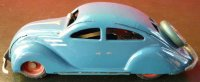 Ingap Tin-Cars Padova #802 tin wind-up streamline...