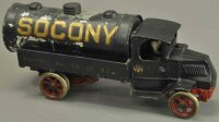 Arcade Cast-Iron trucks Socony private label truck, cast...
