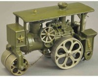 Hubley Cast-Iron Tugs-Rollers Huber steam roller, cast...