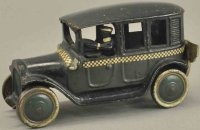 Freidag Cast-Iron Oldtimer Green checker cab, cast iron,...