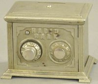 Kenton Hardware Co Cast-Iron-Mechanical Banks Two dial...