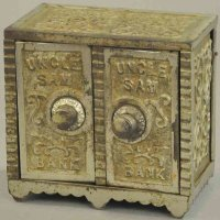 Mudd Manufacturing of Chicago Cast-Iron-Mechanical Banks...