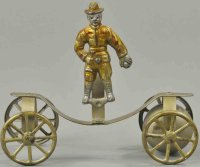 Watrous Mfg. Co. Cast-Iron Figures Boy scout as bell toy,...