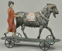 Althof Bergmann & C0 Tin-Figures Goat herder on platform,...