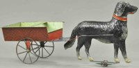 Brown George Tin-Carriages Oversized dog cart, very...