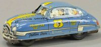 Marx Tin-Cars Dick tracy friction car, lithographed tin,...