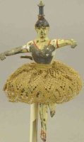 Lehmann Tin-Figures The magic ball dancer, ballet dancer,...