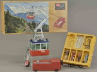 Lehmann Tin-Toys RIGI electric 900E, lithographed tin...