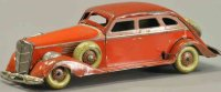 Kosuge Toy Co. Ltd. Tin-Oldtimer Packard sedan, pre-war...
