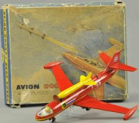 Joustra Tine Ariplanes Avion, airplane with rocket and...