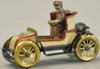 Issmayer Tin-Race-Cars Early Spyder de Dion racer,...