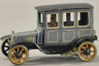 Bing Tin-Oldtimer Taxi model T sedan, lithographed tin,...