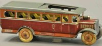Distler Tin-Buses Bus with sliding roof, interesting...
