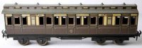 Carette Railway-Passenger Cars Passenger car with eight...