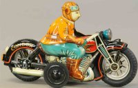 I.Y. Metal Toys Tin-Motorcycles Condor motorcycle with...
