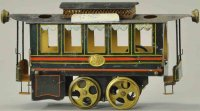 Plank Ernst Railway-Locomotives Hot air trolley,...