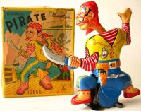 Cragstan Tin-Figures Extremely rare pirate with sword,...