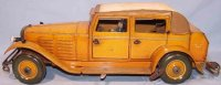 Guenthermann Tin-Oldtimer Roll roof saloon, large...
