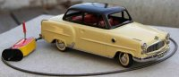 Arnold Tin-Cars Tin car Opel Olympia Record with cable...