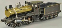 Carette Railway-Locomotives Locomotive and tender,...