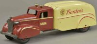 Wyandotte Tin-Trucks Bordens delivery truck, stenciled as...