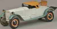 Dayton Tin-Oldtimer Packard roadster, pressed steel,...