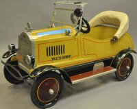 Gendron Wheel Company Tin-pedal cars Willys Knight pedal...